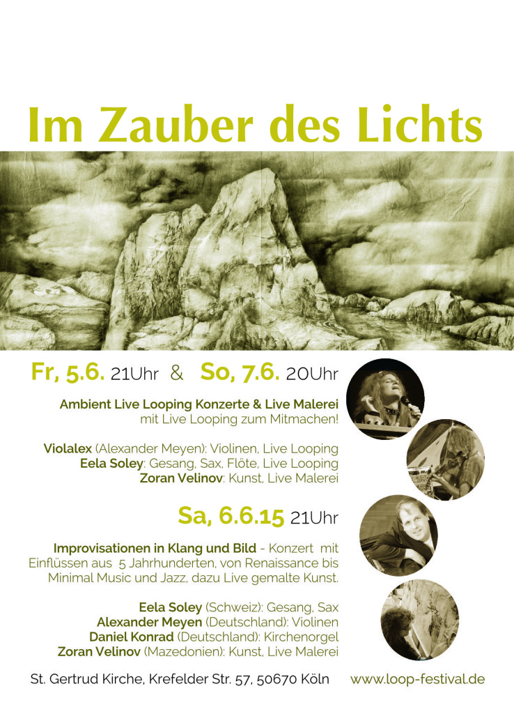 Im Zauber des Lichts - Konzerte und Live Malerei