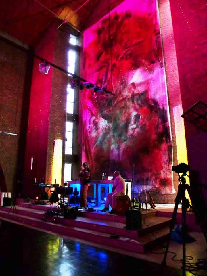 Alexander Meyen + Ramesh Shotham @ Loop-Festival Köln Lutherkirche 19.05.2012